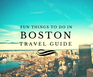 Fun things to do in Boston travel guides Test