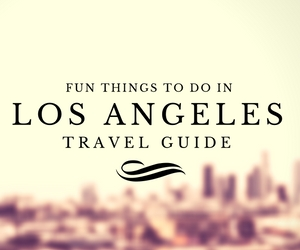 Fun things to do in Los Angeles travel guides Test