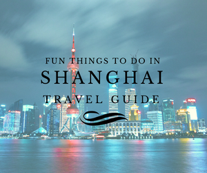 Fun things to do in Shanghai travel guides Test